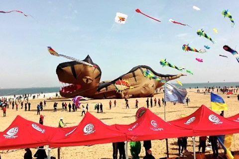 风筝的世界 欢乐的海洋—华全动力带你感味潍坊国际风筝会