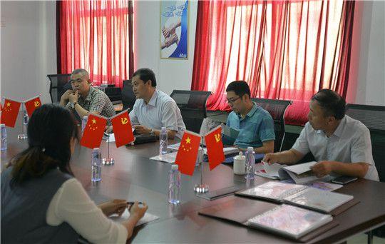 华全动力欢迎潍坊知识产权局领导