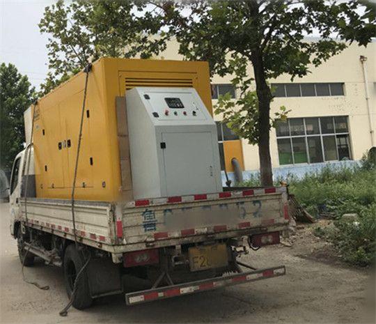 华全玉柴350kw静音型发电机组发货