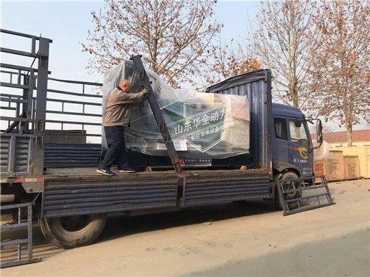 华全400kW康明斯发电机组发往辽宁