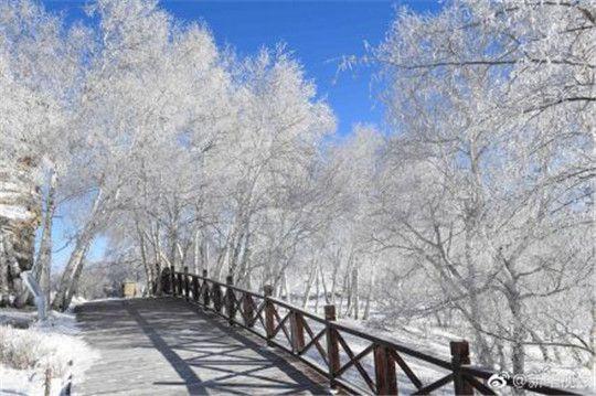 华全发电机组在内蒙古看雪景