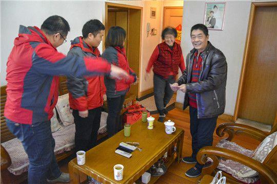 华全动力党支部走访慰问生病职工党员