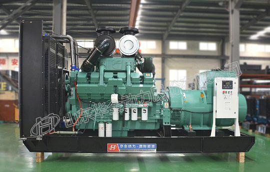 华全康明斯600kW发电机组