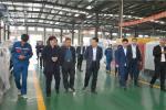 热烈欢迎潍坊经济开发区领导莅临华全动力视察指导工作